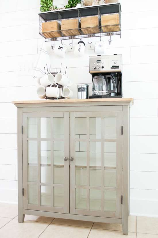 coffee bar makeover