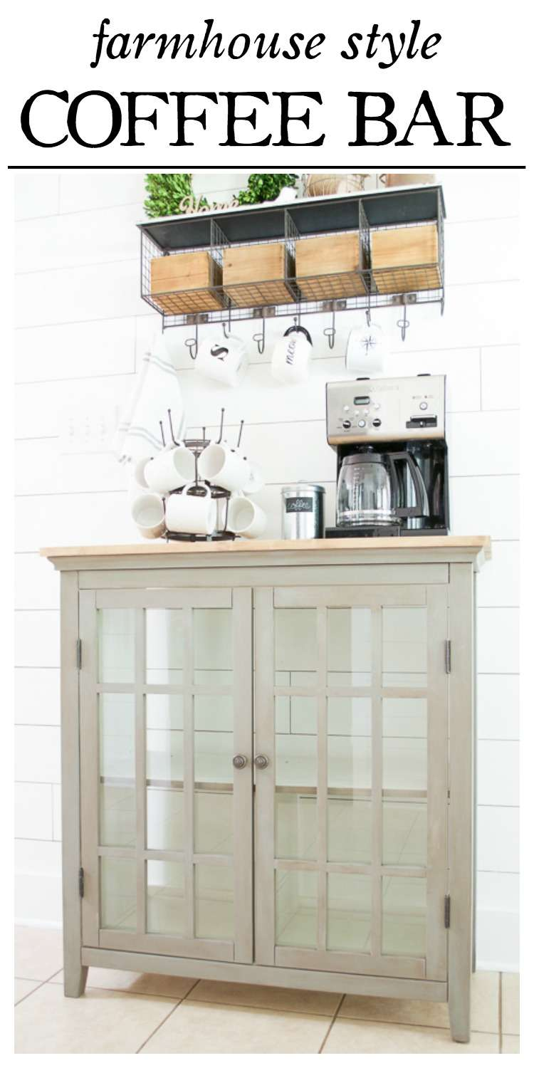coffee bar makeover pinterest