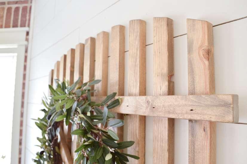 farmhouse gate wall decor / diy farmhouse wall decor