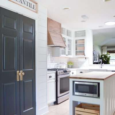 HOW TO: KITCHEN ISLAND EXTENSION