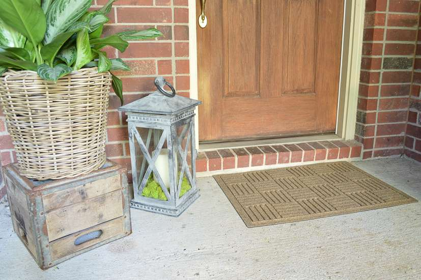 summer porch and entryway tour front door