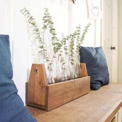 DIY Planter – Wooden Carpenter's Toolbox