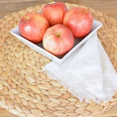 How to Make Fringe Napkins from a Pillowcase
