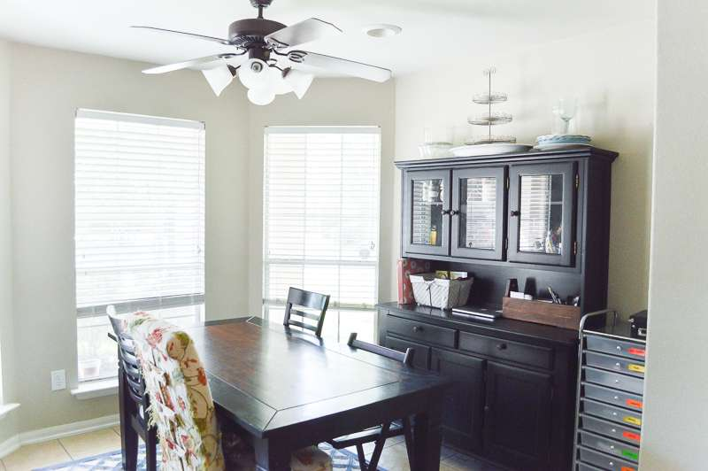 Farmhouse Dining Room Design Plan - One Room Challenge { Week One}