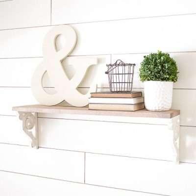 How to Make a Wood Corbel Farmhouse Shelf