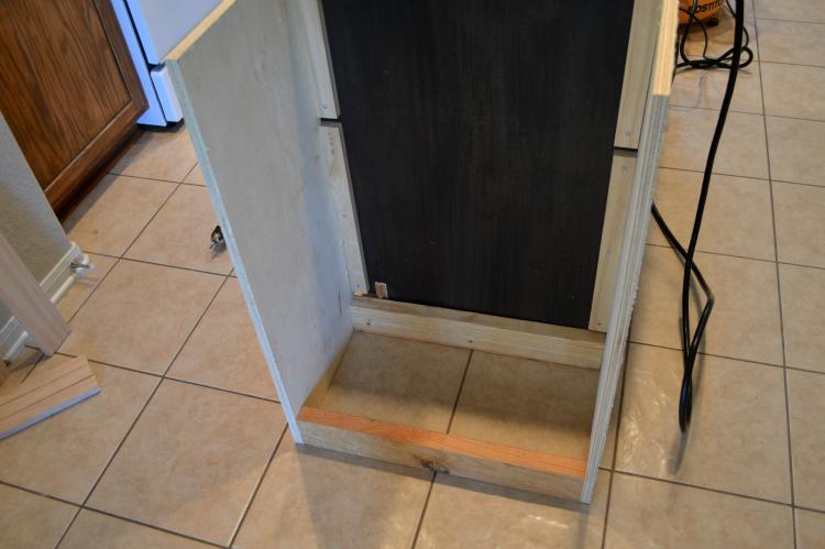 extending the kitchen island / kitchen island extension