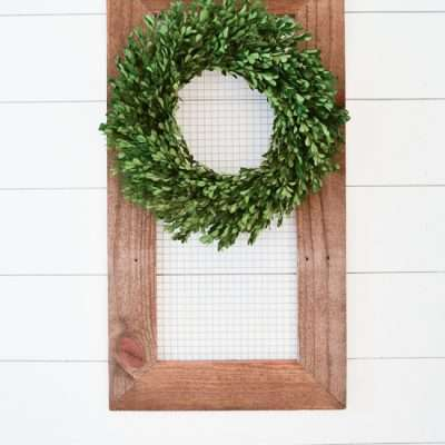 Reclaimed Wood Display Frame
