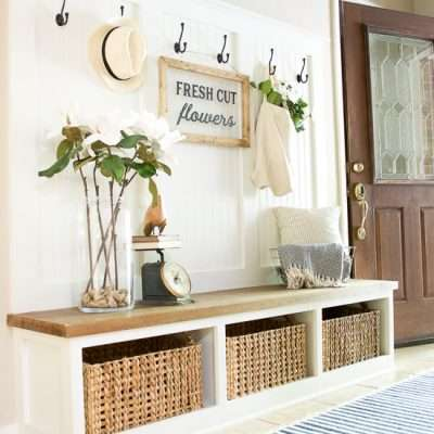 Summer Porch and Entryway Tour