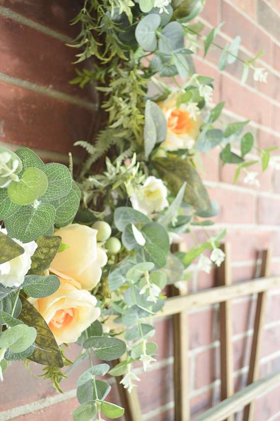summer porch and entryway tour / summer porch decorating