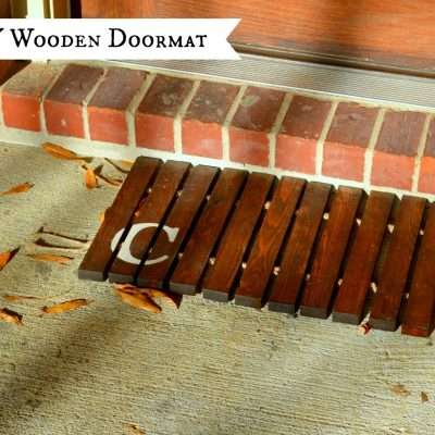 Wooden Doormat Tutorial